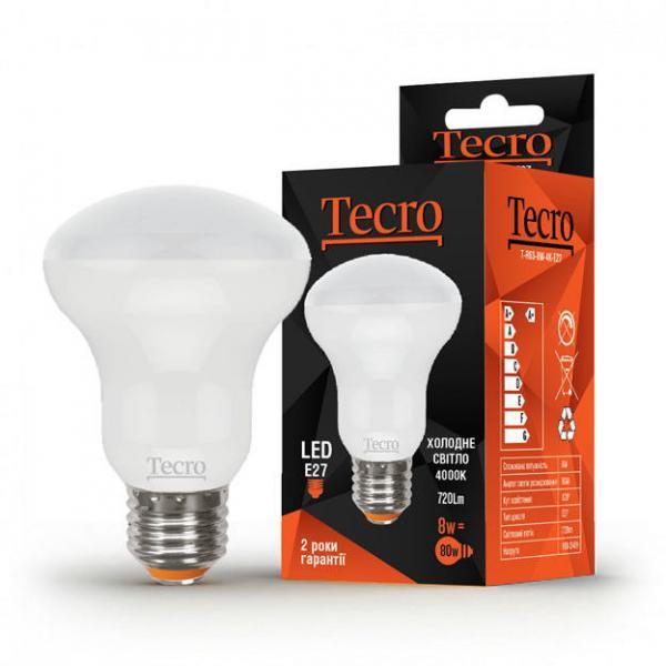 Лампа светодиодная Tecro 8 Вт R63