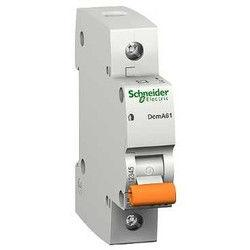 Автоматический выключатель Schneider ВА63 1П 10A  однополюсный