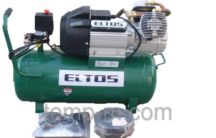 Компрессор Eltos 50-2  (50л 2 цилиндра)