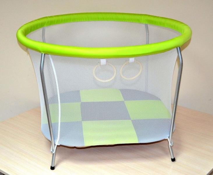 манеж круглий малый №6 ткань балоний