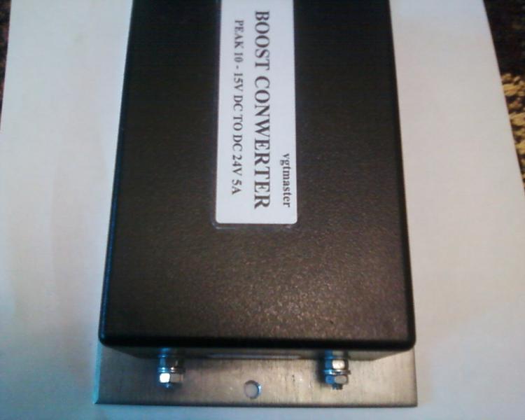 Преобразователь напряжения 12-28В 10А (зарядное)