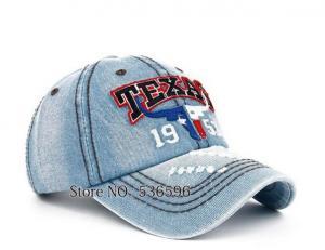 Фото Бейсболки Бейсболка джинсовая Texas