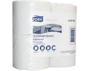 Бумага туалетная Tork Advanced 4 в 1 со втулкой, 23 м.