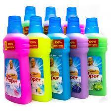 Жидкость для полов и стен Mr.Proper 1 л. (разные запахи, см. подробнее)