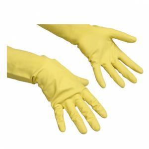 Перчатки хозяйственные из натурального латекса