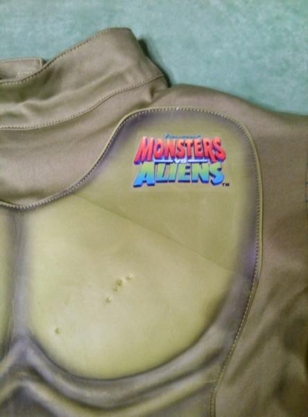 Карнавальный костюм Монстры против пришельцев