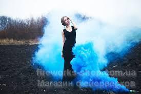 Фото Цветные дымы Дым MA0511mix/синий