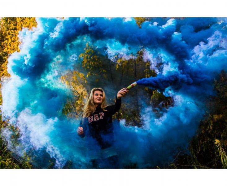 Дым MA0512mix/синий