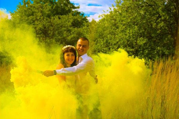 дым желтый L28