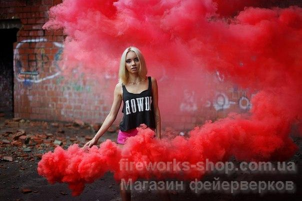Фото Цветные дымы Дым MA0512mix/КРАСНЫЙ