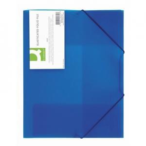 Папка на резинках Q-Connect из прозрачного полипропилена, (разные по цветам, ЦЕНЫ см. подробнее)