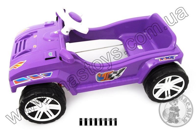 машина для катання  педальна фіолетова 792