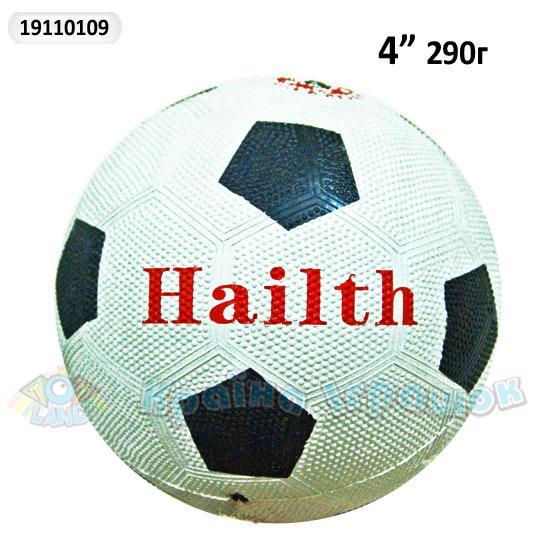"""мяч резиновый fb0103 (19110109) (50шт) футбол 290г 4"""""""