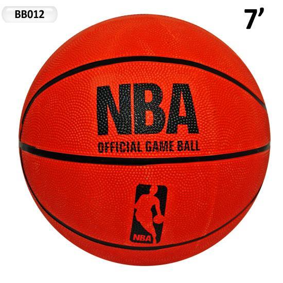 мяч баскетбол bb012 (50шт) 7', 500г