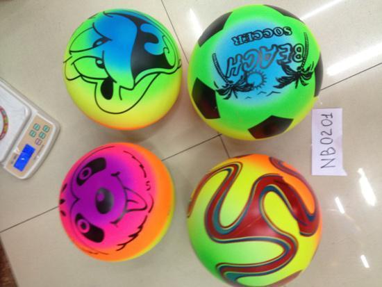 мяч воллейбол nb0201 (400шт) пляжный 70 грамм 4 вида