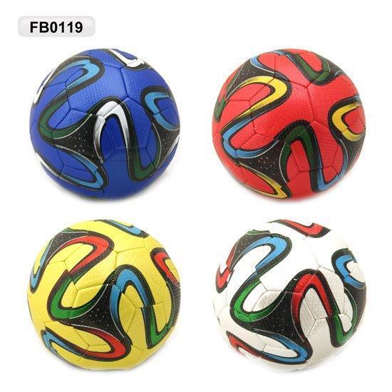 мяч футбольный fb0119, pu, 3-слоя, 330 г