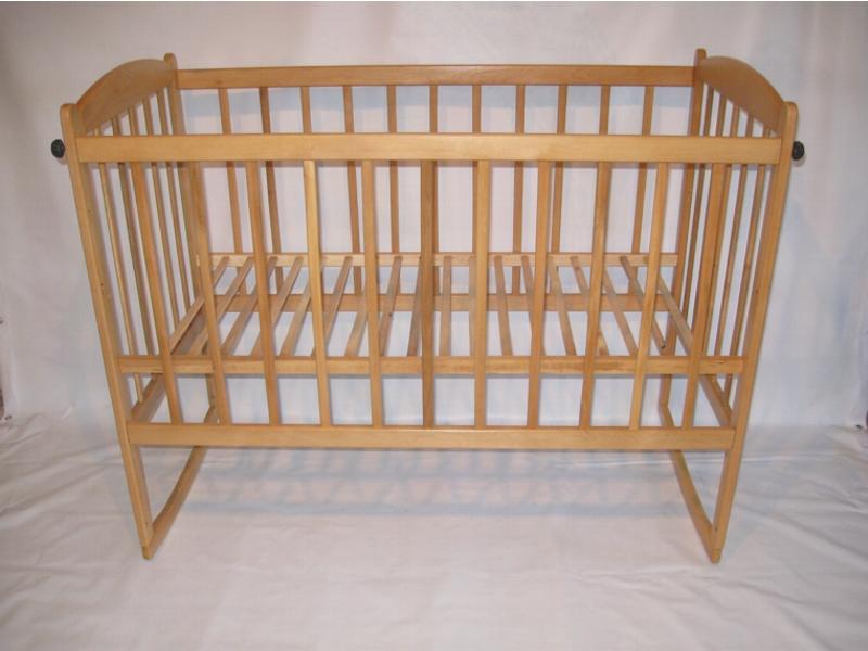 кровать качалка с опускающим боком, 120х60