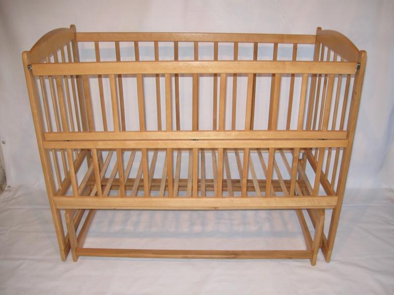 кровать качалка с открывающим боком на шарнирах, 120х60