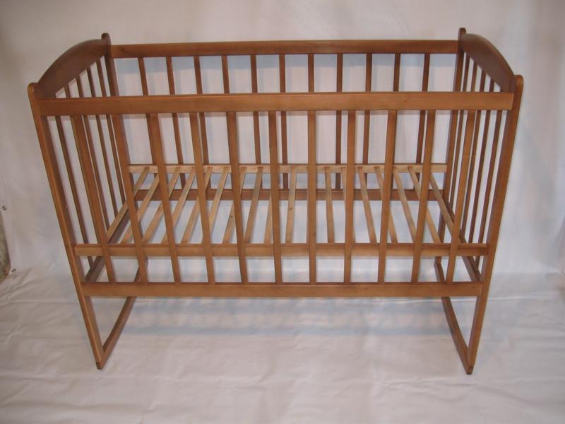 кровать простая качалка, 120х60
