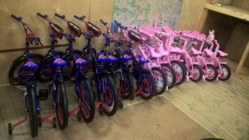 Детские велосипеды AW Bike