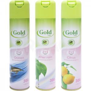 Освежитель воздуха Gold Wind, аэрозоль, различные запахи
