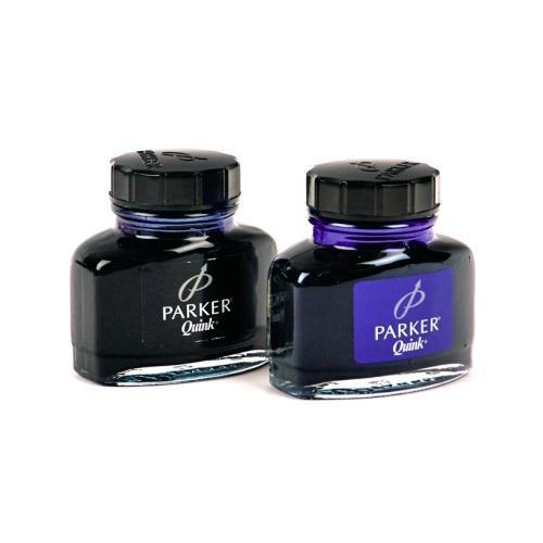 Фото Письменные принадлежности, Ручки перьевые, патроны чернильные, чернила для перьевых ручек Чернила Parker, синие, черные