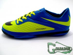 Фото ФУТБОЛЬНАЯ ОБУВЬ, ФУТЗАЛКИ (БАМПЫ) Футзалки (бампы) Nike Hypervenom Phelon (0181)