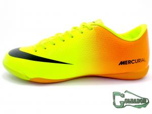 Фото ФУТБОЛЬНАЯ ОБУВЬ, ФУТЗАЛКИ (БАМПЫ) Футзалки (бампы) Nike Mercurial Victory V IC (0292)