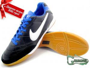 Фото ФУТБОЛЬНАЯ ОБУВЬ, ФУТЗАЛКИ (БАМПЫ) Футзалки (бампы) Nike Tiempo Genio (0293)