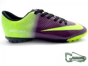 Фото ФУТБОЛЬНАЯ ОБУВЬ, СОРОКОНОЖКИ (МНОГОШИПОВКИ) Сороконожки (многошиповки) Nike Mercurial Victory (0259)