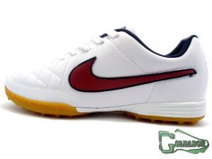 Фото ФУТБОЛЬНАЯ ОБУВЬ, СОРОКОНОЖКИ (МНОГОШИПОВКИ) Сороконожки (многошиповки) Nike Tiempo Genio (0364)
