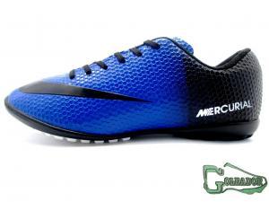 Фото ФУТБОЛЬНАЯ ОБУВЬ, СОРОКОНОЖКИ (МНОГОШИПОВКИ) Сороконожки (многошиповки) Nike Mercurial Victory (0379)