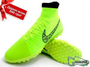 Фото ФУТБОЛЬНАЯ ОБУВЬ, СОРОКОНОЖКИ (МНОГОШИПОВКИ) Сороконожки (многошиповки) Nike Elastico Superfly ProXimo (0338)