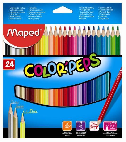 """Цветные карандаши """"Color Peps"""" (разное кол-во в уп-ке, ЦЕНЫ см. подробнее)"""