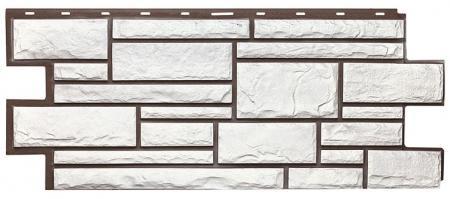 """фасадная панель """" т-сайдинг"""" дикий камень (1090*455)"""