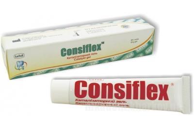 Фото Для стоматологических клиник, Материалы, Оттискные материалы Consiflex, катализаторный гель (Консифлекс)