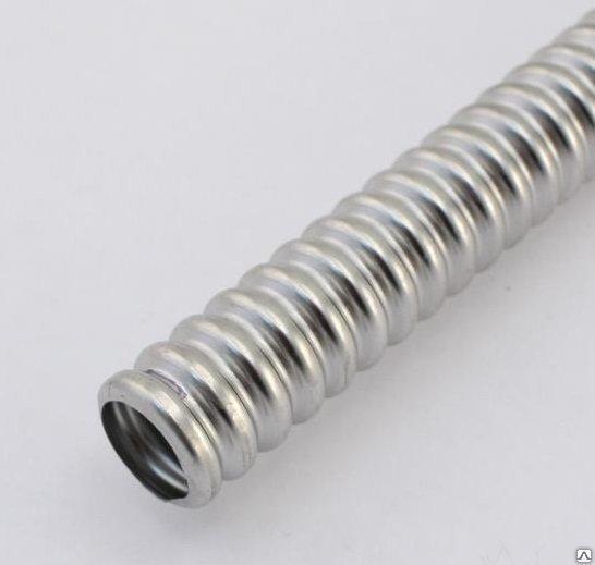 KOFULSO.Труба гофрированная нержавеющая сталь отожженная Ф 20 мм (3/4)