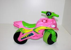 Фото Транспорт для детей, Автомобили толокары МОТОБАЙК СПОРТ музыкальный в пакете 01393