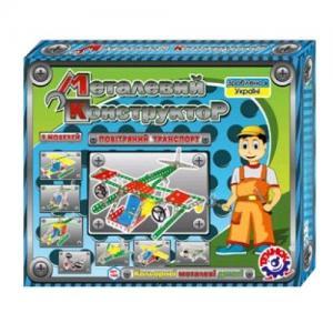 Фото Детские игрушки, Конструкторы, Металлические Конструктор мет. «Воздушный транспорт» арт.1042