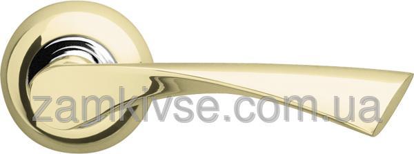 ARMADILLO Ручка раздельная Corona LD23-1GP/CP-2 золото/хром
