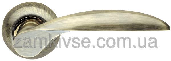 ARMADILLOРучка раздельная Diona LD20-1AB/SG-6 бронза/матовое золото