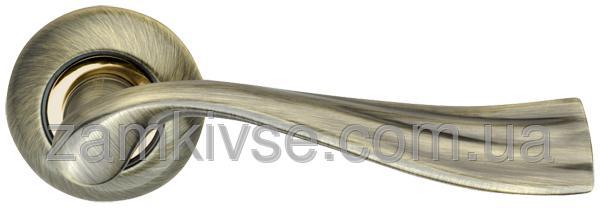 ARMADILLOРучка раздельная Laguna LD85-1AB/SG-6 бронза/матовое золото
