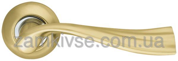 ARMADILLO Ручка раздельная Laguna LD85-1SG/CP-1 матовое золото/хром