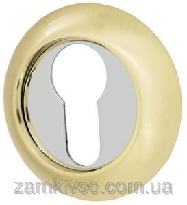 ARMADILLO, Накладка под цилиндр ET-1SG/CP-1 матовое золото/никель