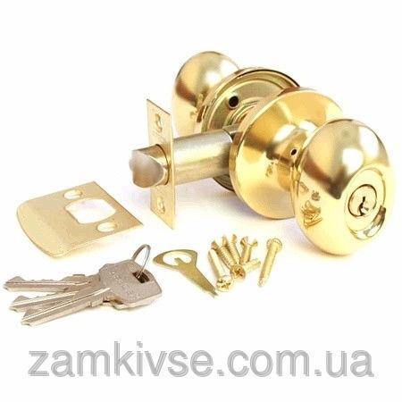 Ручка-защелка Апекс 6093-01G (ключ)
