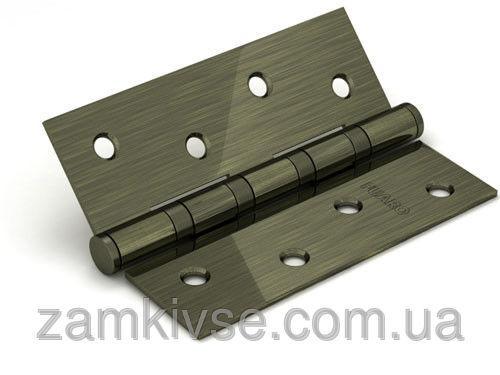 FUAROПетля универсальная 2BB 100x75x2,5 AB (бронза) ПАРА