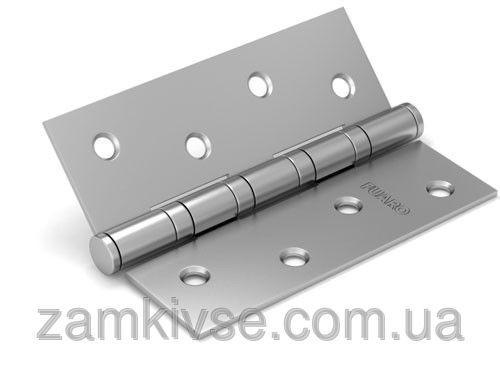 FUAROПетля универсальная 2BB 100x75x2,5 PN (перл. никель) ПАРА