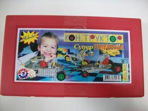 Фото Детские игрушки, Конструкторы, Металлические Конструктор мет. «Суперуниверсал» арт.0939