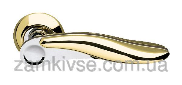 ARMADILLO Ручка раздельная Ursa LD48-1GP/CP-2 золото/хром