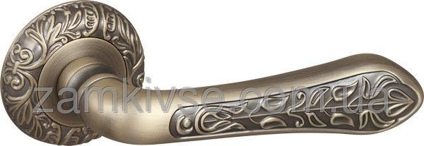FUAROРучка раздельная MONARCH SM MAB-6 темная бронза